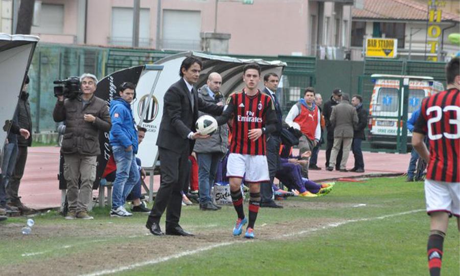 Viareggio Cup - Calabria, 2014 con Filippo Inzaghi Allenatore e sullo sfondo Semplici