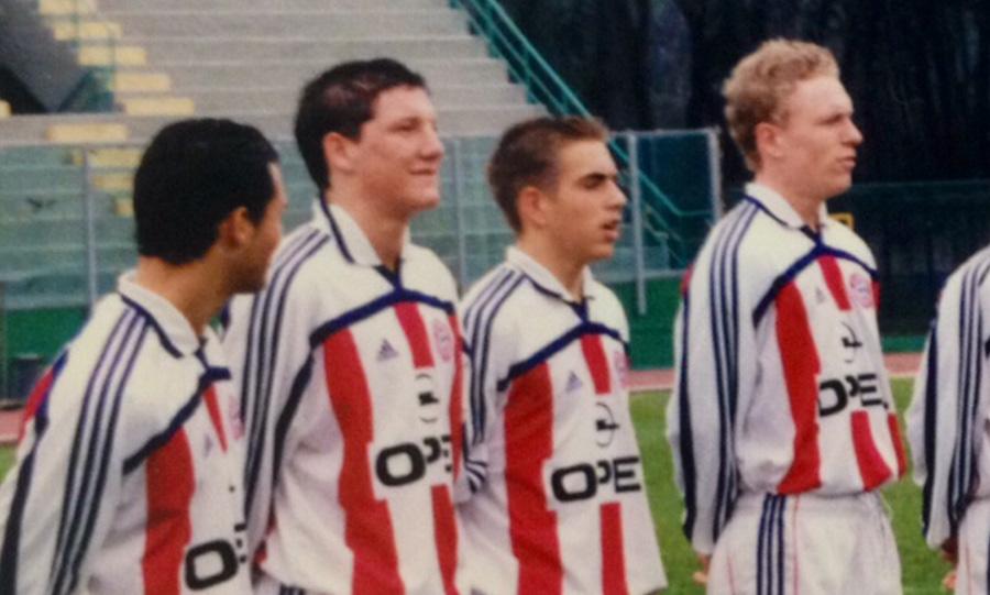 Viareggio Cup - Schweinsteiger e Lahm, 2002